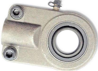 Bild von hydraulická kloubová hlavice pro bagr nakladač stavební stroj WAPR100S GIHO-K100DO SIJ100ES přitahovací závit Gelenkkopf