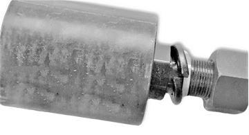 Obrázek nosní rolna horní kladka instalační šířka 115mm Type B00 pro JCB 803 803 Magnum 803 Plus 803-2 803.2Z 803.ZTS 8030 8030ZTS 8032Z 8032 8032ZZTS 8035 8035Z 8035ZTS KUBOTA KX161.2 KX161-2 KX161/2