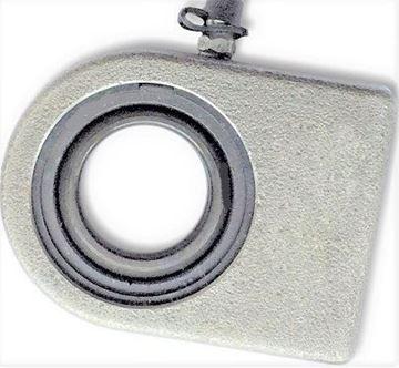 Obrázek hydraulická kloubová hlavice pro bagr nakladač stavební stroj WS35N WS 35 N 35 mm k přivaření gelenkkopf
