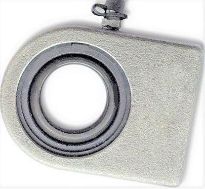 Bild von hydraulická kloubová hlavice pro bagr nakladač stavební stroj WS100N WS 100 N 100 mm k přivaření Gelenkkopf
