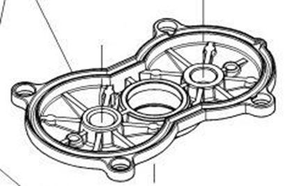 Image de Boîtier de roulement Hilti TE50 TE50AVR