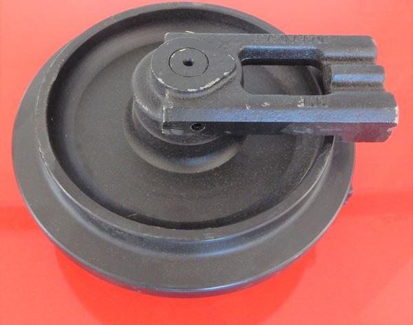 Picture of Rueda loca tensora idler con soportes - altura total de la rueda 216/240mm para Kubota KX41 KX41-2 KX41-2A KX41-2C KX41-2S KX41-2V KX36 KX36-2 KX41-3 KX41-3S KX41-3V 2 U15 U15-3 KX36-3 KX016-4 and others
