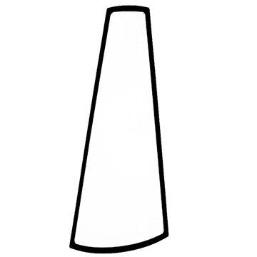 Picture of CORNER GLASS LEFT