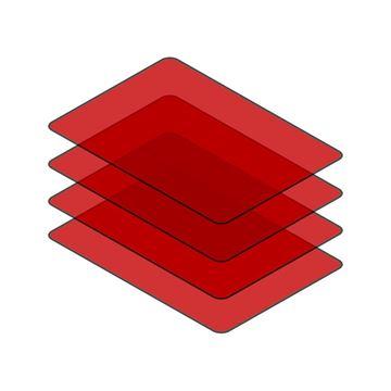 Obrázek ZADNÍ SKLO / KUBOTA U35-3 ZTS / U35-3 ZTS ALPHA / U45-3 ZTS / U45-3 ZTS ALPHA / U50-3 ZTS (FROM 2003)