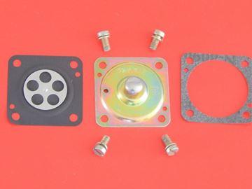 Obrázek servisní sada opravní pro BING33 karburátor vcětne membrany a tesneni šrouby WACKER Neuson WM 80 WM80 W103 BS 60 62 Y / BS60Y / BS60 BS62 Y / BS 60Y 62Y service kit wartungskit nahradí originál 50000 37753 50000 65688 50000 37754