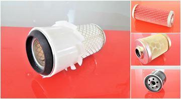 Obrázek servisní sada filtrů filtry pro Komatsu PC08UU-1 PC08UU1 PC08UU.1 PC08UU/1 s motorem  2D68E Set1 filter filtre