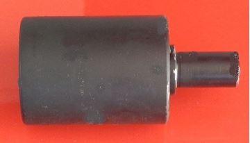 Bild von Tragrolle top roller Einbaumaß Breite 110mm Type B00 für Kubota KX101.3 KX101.3A KX61.3 KX61-3 KX101.3A2 KX101-3 KX101-3A KX101-3A2 Kobelco SK50 SK50.1 SK50SR Yanmar VIO25 VIO30 VIO35 ...