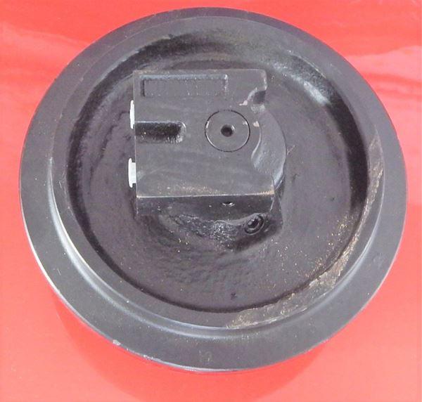 Picture of Rueda loca tensora idler con soportes - altura total de la rueda 200/240mm fits Kubota KH36 KH41 KX36 KX36-2 KX41 KX41-2 KX41-2A KX41-2C KX41-2S KX41-2V Case CX1 CK15