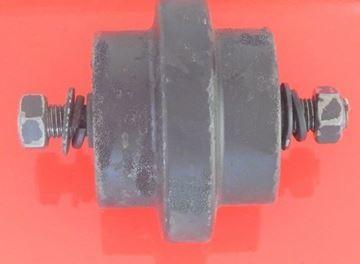 Obrázek vodící rolna spodní kladka instalační šířka 224,5mm Type A36 pro Bobcat 435ZTS 435 X337 337 X341 X341D E45 E50ZTS E50 E55 E60ZTS E60