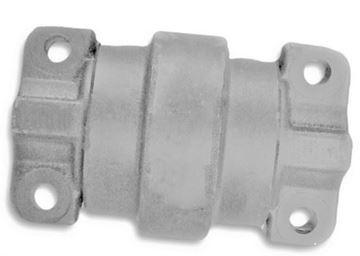 Obrázek vodící rolna spodní kladka instalační šířka 110mm Type A46 pro Volvo Pel Job EB25-4 EB30-4 EB36 EB406 LS2000 LS286 LS386 ...