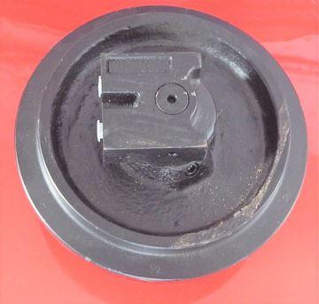 Obrázek vodící rolna napínací kolo idler pro Kubota KH41 částečně pro ocelové pásy