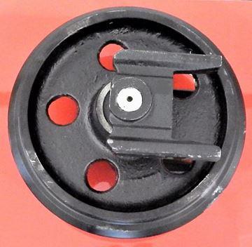 Obrázek napínací kolo idler vodící minibagru pro Terex TC29 TC35 TC37 Schaeff Terex HR3.7 HR8A HR14 HR16