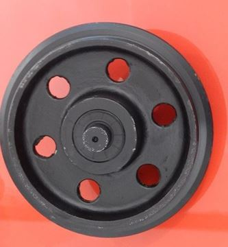 Obrázek napínací kolo idler vodící minibagru pro Takeuchi TB014 TB015 TB016 TB-016