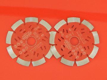 Изображение Алмазные диски HILTI для DC125 DC/125 DC-125 S DCG DAG /2шт универсальной бетонной кладки / 125 мм 22,2 / также для Bosch Makita Metabo Dewalt Hitachi и др.