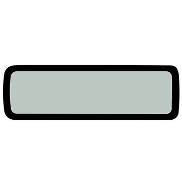 Obrázek strešní sklo kabiny pro Yanmar SV15 SV17 SV17E kvalita skleněná výplň nahradí originál 172A59-68520 suP