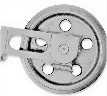Obrázek napínací kolo idler vodící minibagru pro Yanmar B25V B30V VIO30 VIO35 B37 B25V B30 B37
