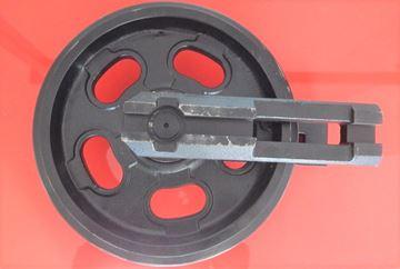 Obrázek napínací kolo idler vodící minibagru pro Yanmar VIO27 Vio30 Vio35 B25V VIO25 VIO27.2 VIO30.2 VIO30.3 VIO35.2 VIO35.5 VIO38.2
