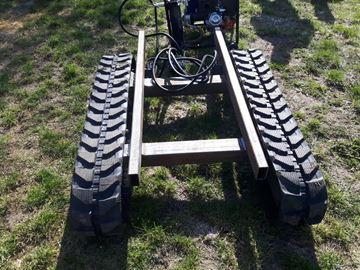 Immagine di crawler track REV-FF17 load capacity including chassis 1,7t telescopic mini excavator at REVER.store