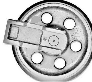 Obrázek vodící rolna napínací kolo idler pro Yanmar B37.2 B37-2 B37/2 nahradí originál