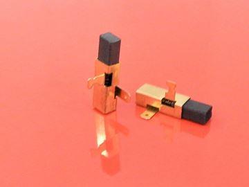 Immagine di spazzole di carbone si adatta a Festo Festool TS75EQB CS55 CS50EB TS55 TS55EBQ TS55EBQ TS55Q TS55EQB TS75